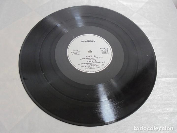 Discos de vinilo: RA-MONOS. ¡LA RAMONA!. MAXISSINGLES VINILLO. URBAN SOUND BARCELONA. METROPOL RECORDS. 1993 - Foto 3 - 199853366