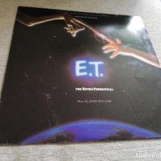 Discos de vinilo: E. T. THE EXTRA TERRESTRIAL-MUSIC BY JOHN WILLIAMS. LP ESPAÑA. Lote 199854075