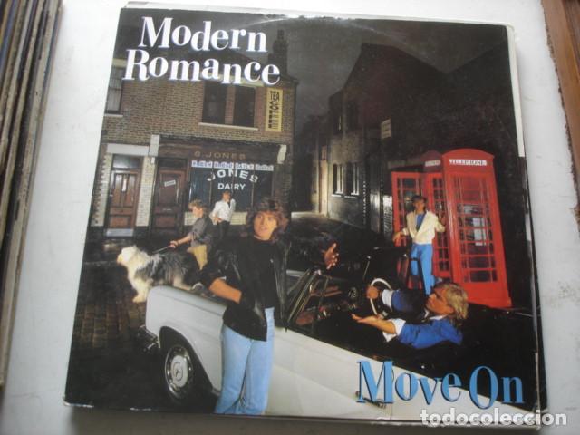 MODERN ROMANCE MOVE ON (Música - Discos de Vinilo - Maxi Singles - Funk, Soul y Black Music)