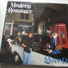 Discos de vinilo: MODERN ROMANCE MOVE ON. Lote 199866506