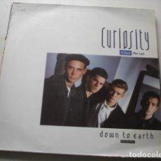 Discos de vinilo: CURIOSITY KILLED THE CAT  DOWN TO EARTH. Lote 199866823