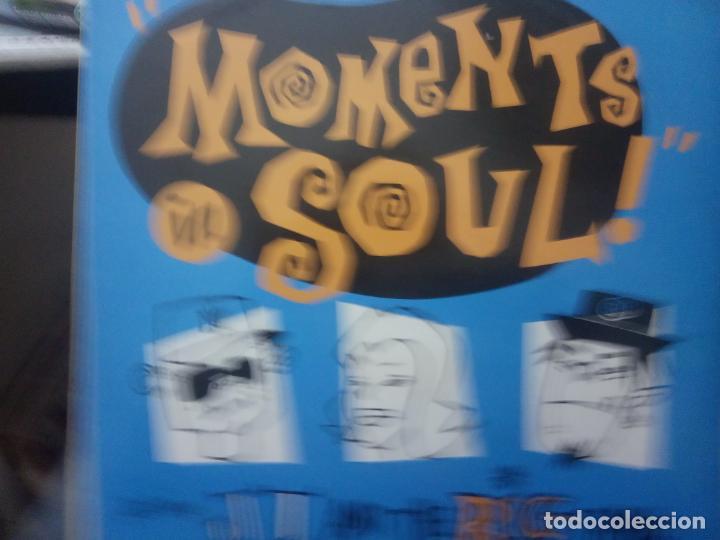MOMENTS IN SOUL -MAXI (Música - Discos de Vinilo - Maxi Singles - Pop - Rock - New Wave Extranjero de los 80)