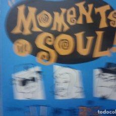 Discos de vinilo: MOMENTS IN SOUL -MAXI. Lote 199866911