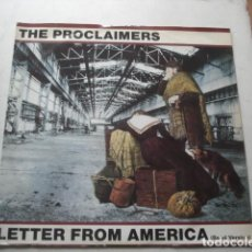 Discos de vinilo: THE PROCLAIMERS LETTER FROM AMERICA (BAND VERSION). Lote 199867215