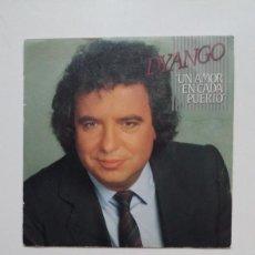 Discos de vinilo: DYANGO. UN AMOR EN CADA PUERTO. SINGLE. TDKDS20. Lote 199867508