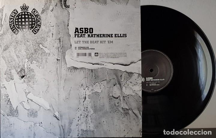 MINISTRY OF SOUND - ASBO - FEAT KATHERINE ELLIS- LET THE BEAT HIT ´EM (Música - Discos de Vinilo - Maxi Singles - Techno, Trance y House)