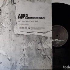 Discos de vinilo: MINISTRY OF SOUND - ASBO - FEAT KATHERINE ELLIS- LET THE BEAT HIT ´EM. Lote 199868062