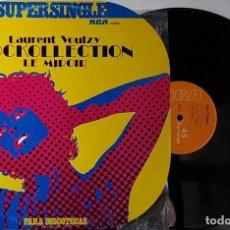 Discos de vinilo: SUPERSINGLE 10 - LAURENT VOULZY - ROCKOLLECTION . Lote 199868460