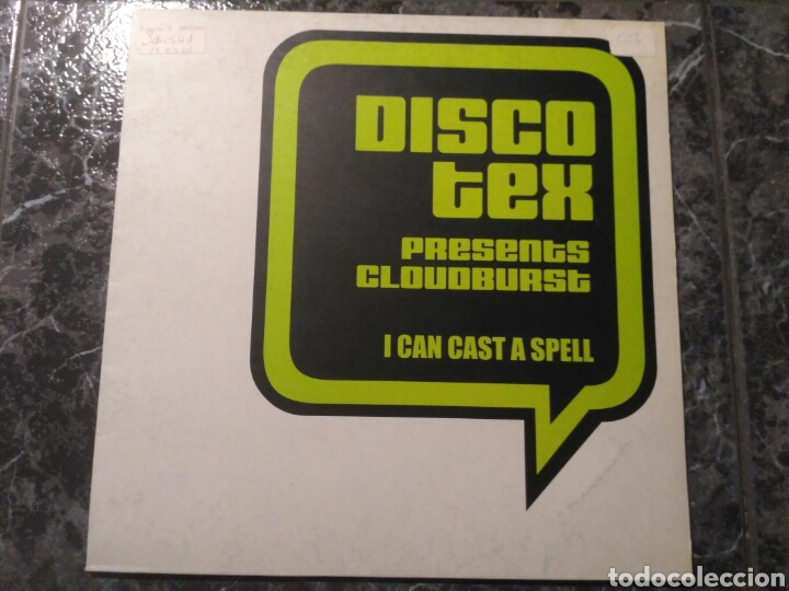 DISCO TEX PRESENTS CLOUDBURST - I CAN CAST A SPELL (Música - Discos de Vinilo - Maxi Singles - Techno, Trance y House)