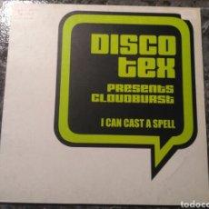 Discos de vinilo: DISCO TEX PRESENTS CLOUDBURST - I CAN CAST A SPELL. Lote 199868491