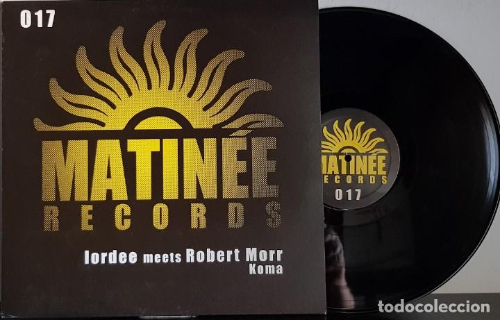 MATINÉE RECORDS - L- ROBERT MORR ORDEE MEETS - MAXI (Música - Discos de Vinilo - Maxi Singles - Techno, Trance y House)
