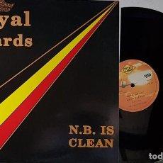 Discos de vinilo: ROYAL GUARDS - N.B. IS CLEAN. Lote 199868968