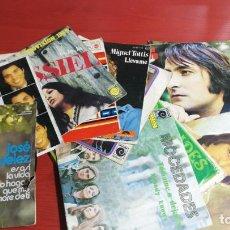 Discos de vinilo: LOTE 15 SINGLES DE CANTANTES Y GRUPOS ESPAÑOLES. NINO BRAVO, MOCEDADES MODULOS MASSIEL, ETC. Lote 199869167