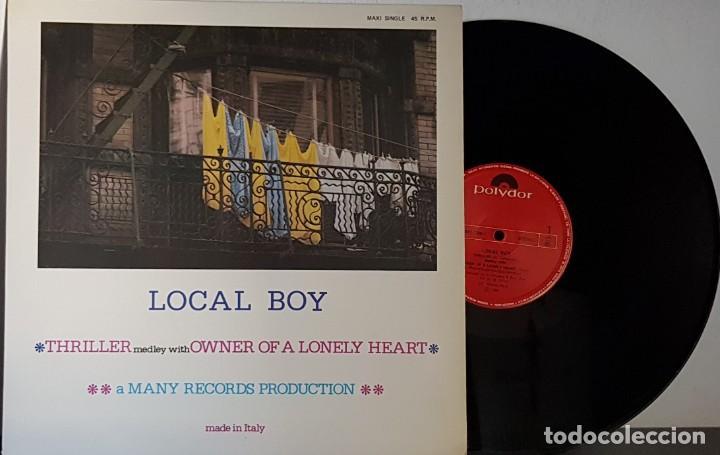 LOCAL BOY - THRILLER - OWNER OF A LONELY HEART MAXI (Música - Discos de Vinilo - Maxi Singles - Disco y Dance)