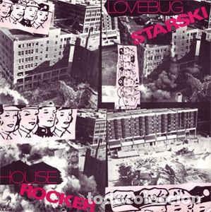 LOVEBUG STARSKI - HOUSE ROCKER - 12 SINGLE - AÑO 1986 (Música - Discos de Vinilo - Maxi Singles - Rap / Hip Hop)