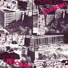 Discos de vinilo: LOVEBUG STARSKI - HOUSE ROCKER - 12 SINGLE - AÑO 1986. Lote 199870301