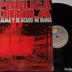 Discos de vinilo: REPUBLICA GORILA - VENDI MI ALMA Y SE ACABO MI RUINA MAXI. Lote 199870502