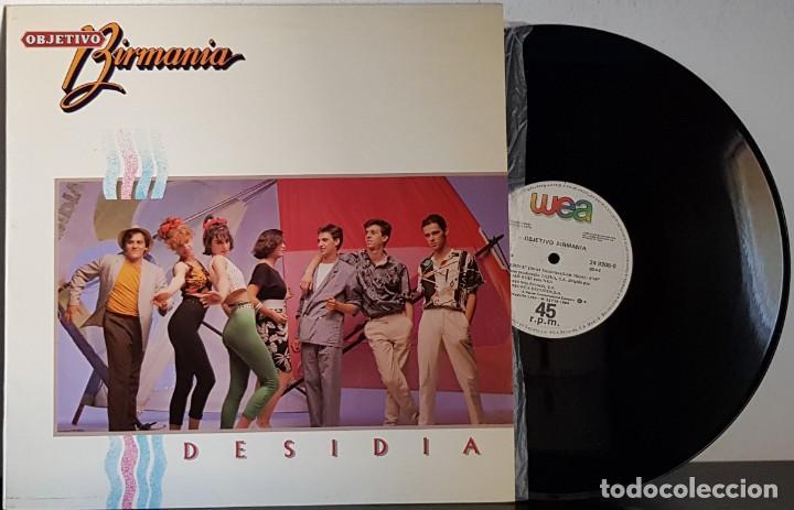 OBJETIVO BIRMANIA - DESIDIA MAXI (Música - Discos de Vinilo - Maxi Singles - Disco y Dance)