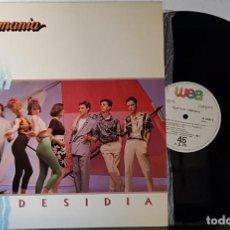 Discos de vinilo: OBJETIVO BIRMANIA - DESIDIA MAXI. Lote 199870911