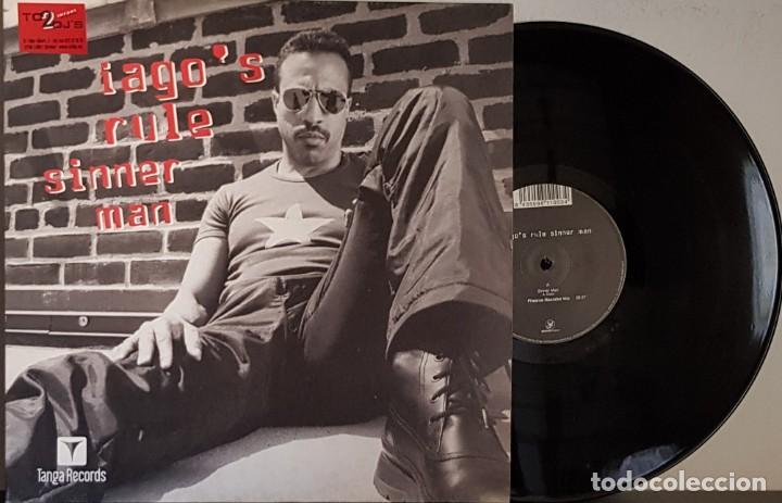 IAGO´S RULE SINNER MAN (Música - Discos de Vinilo - Maxi Singles - Disco y Dance)