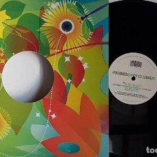 Discos de vinilo: POCOMOXO - HOY ES SABADO DISCO A 33 RPM CARA A Y A 45 RPM CARA B. Lote 199872382