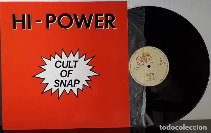 HI- POWER - CUT OF SNAP - MAXI (Música - Discos de Vinilo - Maxi Singles - Disco y Dance)