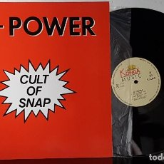 Discos de vinilo: HI- POWER - CUT OF SNAP - MAXI. Lote 199872748