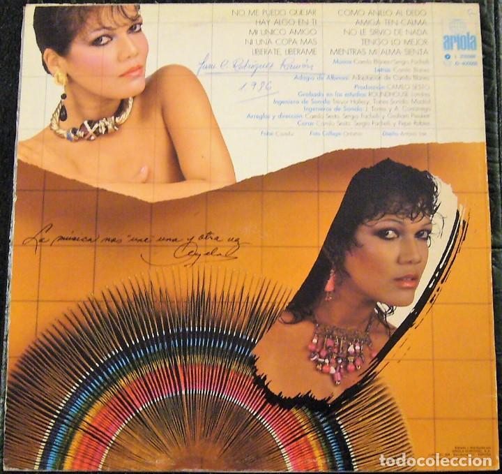 Discos de vinilo: ANGELA CARRASCO - UNIDOS - Foto 2 - 199873672