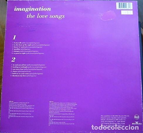 Discos de vinilo: IMAGINATION - THE LOVE SONGS - Foto 2 - 199873808