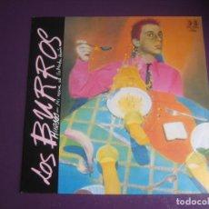 Disques de vinyle: LOS BURROS SG BELTER 1983 - HUESOS / MI NOVIA SE LLAMABA RAMON - ULTIMO FILA - OUKA LELE. Lote 199899503