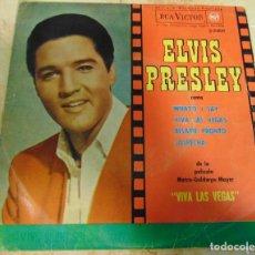 Disques de vinyle: ELVIS PRESLEY –WHAT'D I SAY + 3 - EP 1964. Lote 199909555