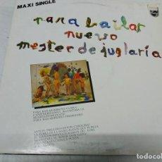 Discos de vinilo: NUEVO MESTER DE JUGLARÍA – PARA BAILAR. Lote 199916241