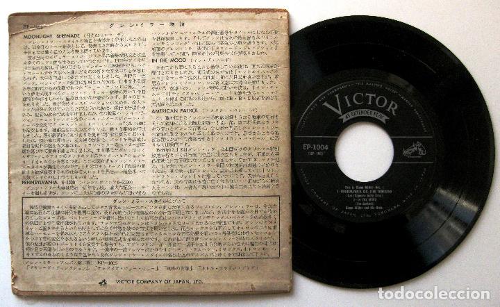 Discos de vinilo: Glenn Miller - This Is Glenn Miller Vol.1 (Música y Lágrimas) - EP Victor 1956 Japan BPY - Foto 2 - 199922507