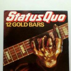 Discos de vinilo: STATUS QUO ?– 12 GOLD BARS, VERTIGO ?– 9102 041, PHONOGRAM ?– 9102 041, 1980. FRANCE.. Lote 199942461