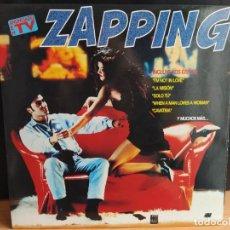 Discos de vinilo: ZAPPING (2XLP, COMP) (KONGA MUSIC)CXLP-162 CTV (D:NM). Lote 199953292