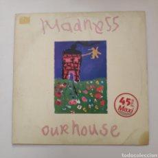 Discos de vinilo: NT MADNESS - OUR HOUSE 1983 MAXI VINILO. Lote 199959522