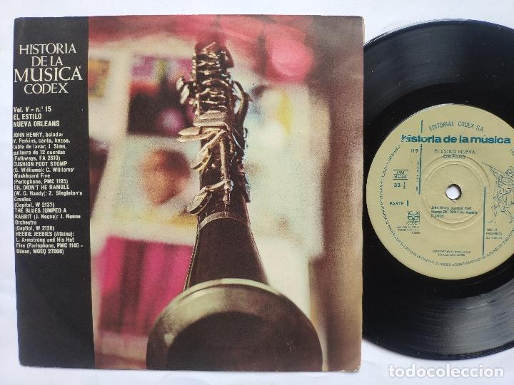 Discos de vinilo: 13 EP s COLECCIÓN COMPLETA JAZZ * CODEX * SWING * BEBOP * COOL JAZZ * HARD BOP * MUCHO TEMA INÉDITO - Foto 2 - 199963151