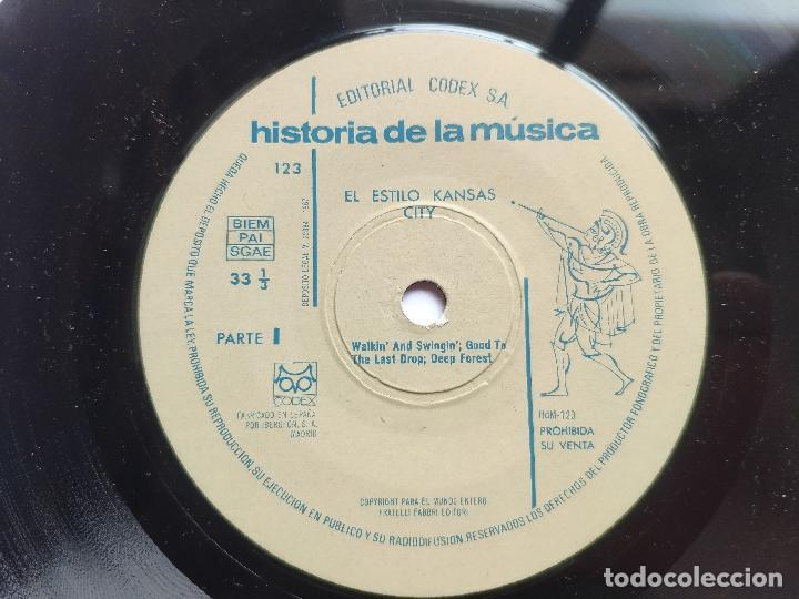 Discos de vinilo: 13 EP s COLECCIÓN COMPLETA JAZZ * CODEX * SWING * BEBOP * COOL JAZZ * HARD BOP * MUCHO TEMA INÉDITO - Foto 24 - 199963151