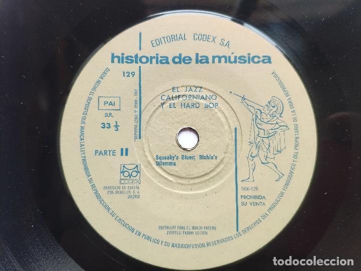 Discos de vinilo: 13 EP s COLECCIÓN COMPLETA JAZZ * CODEX * SWING * BEBOP * COOL JAZZ * HARD BOP * MUCHO TEMA INÉDITO - Foto 49 - 199963151