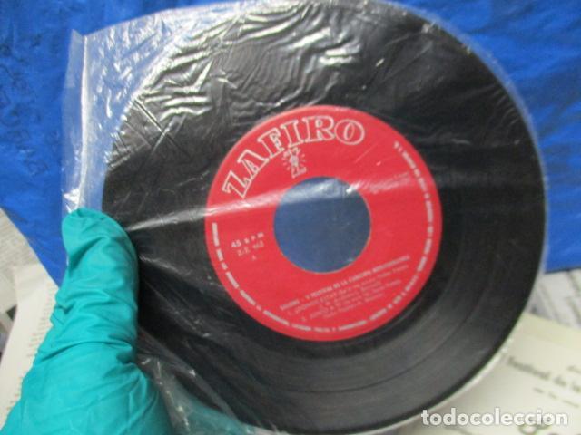 Discos de vinilo: V FESTIVAL DE LA CANCION DEL MEDITERRANEA-SALOME -DONDE ESTA -EP DE 4 CANCIONES -ZAFIRO-MADRID - Foto 2 - 199973051