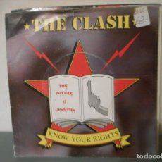 Dischi in vinile: THE CLASH - KNOW YOUR RIGHTS. Lote 199989828