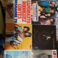 Discos de vinilo: LOTE DE 6 SINGLES Y EPS.. Lote 199992227