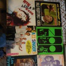 Discos de vinilo: LOTE DE 6 SINGLES Y EPS.. Lote 199992665