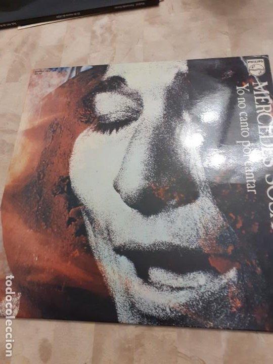 LP MERCEDES SOSA YO NO CANTO POR CANTAR (Música - Discos - LP Vinilo - Grupos y Solistas de latinoamérica)