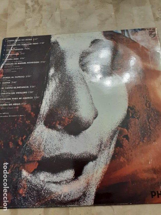Discos de vinilo: LP Mercedes Sosa Yo no canto por cantar - Foto 3 - 200015352