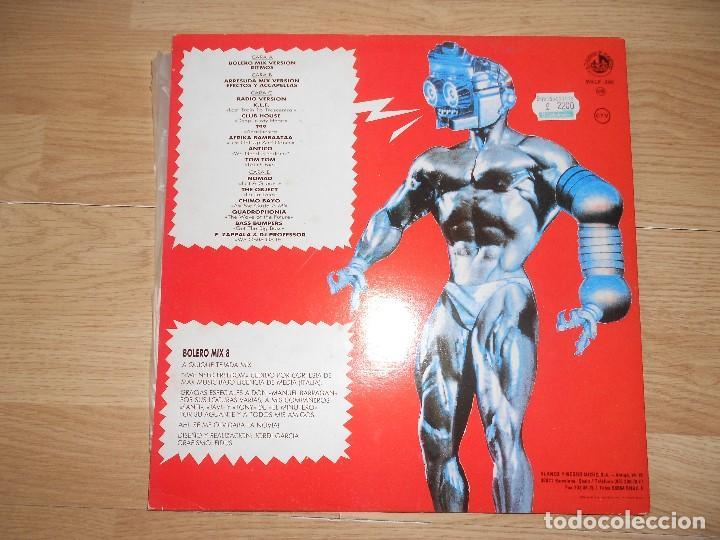 Discos de vinilo: BOLERO MIX 8 - QUIQUE TEJADA - 2-LPs - BLANCO Y NEGRO 1991 - Foto 3 - 210096020