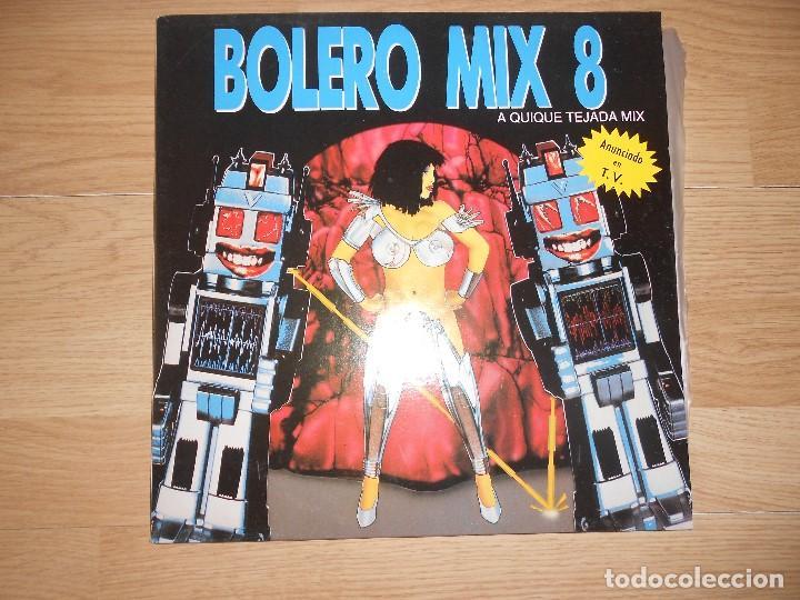 BOLERO MIX 8 - QUIQUE TEJADA - 2-LPS - BLANCO Y NEGRO 1991 (Música - Discos - LP Vinilo - Techno, Trance y House)