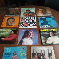 Discos de vinilo: LOTE- ONCE SINGLES-SOLISTAS ESPAÑOLES AÑOS 60/70. Lote 200021031