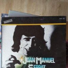 Discos de vinilo: JOAN MANUEL SERRAT - ALBUM DE ORO. Lote 200024950