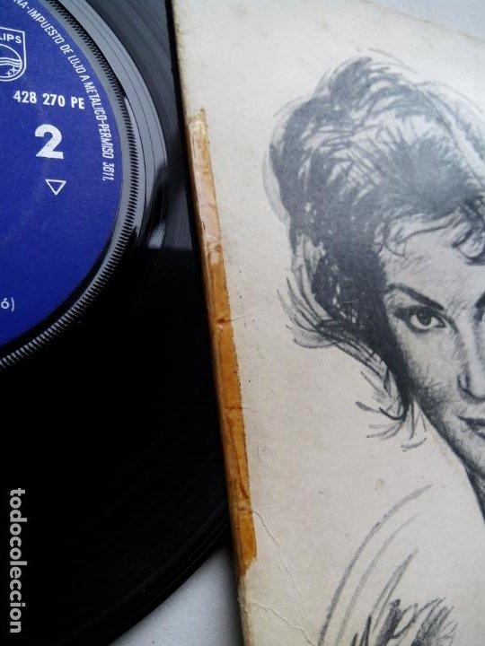 Discos de vinilo: CARMEN SEVILLA CANTA CANCIONES DE AUGUSTO ALGUERÓ. EP PHILIPS 428 270 PE. ESPAÑA 1961. - Foto 3 - 200037677